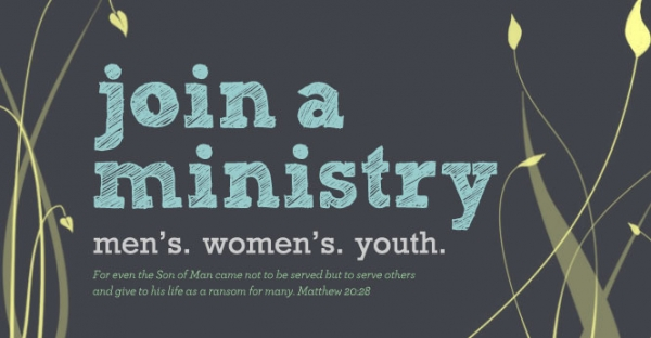January is Join A Ministry month.